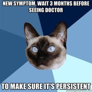 new symptom