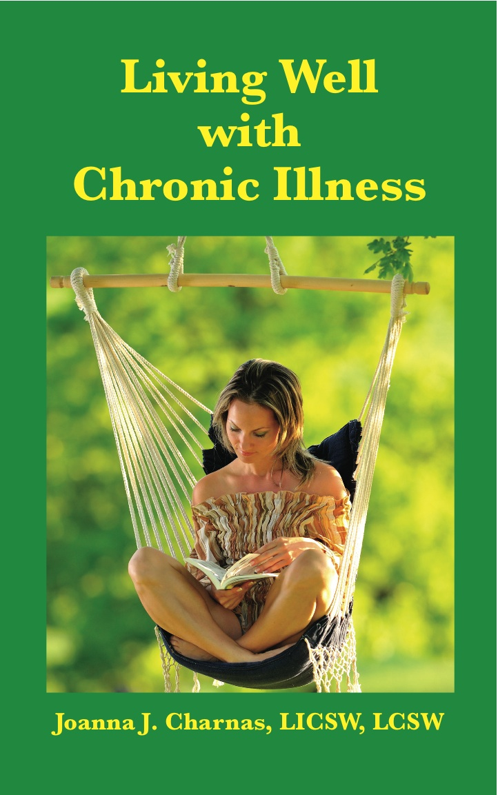 """""""Living Well With Chronic Illness"""" Front Cover"""